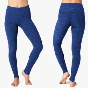 Beyond Yoga High Rise Space Dye Legging in Blue